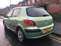 2005 Peugeot 307 1.6 Excellent Runner 10 Months Mot 2 Keys