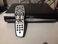 Sky plus HD box + remote control + HDMI cable - Good condition