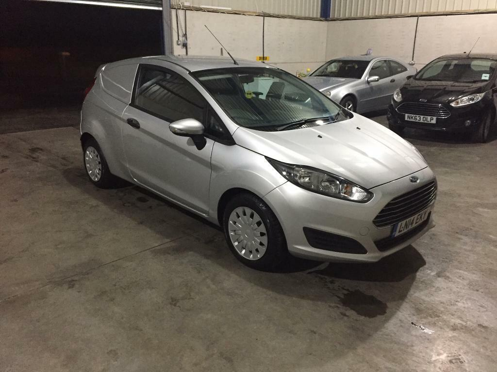 2014 Ford Fiesta van 1.6 tdci econetic auto stop/start no vat guaranteed cheapest in country