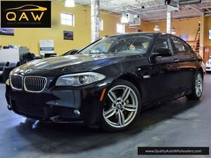 2013 BMW 5 Series 535XI M-SPORT, NAV, REAR CAM, FREE OF ACCIDENT