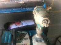 Makita 18volt brushless impact wrench