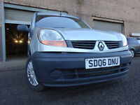 06 RENAULT KANGOO PANEL VAN 1.5 DIESEL,METALLIC GREY,MOT AUG 017,2 KEYS,PART HISTORY,LOVELY EXAMPLE