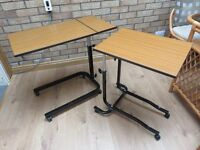 small adjustable tables