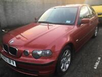 BMW 3 SERIES 318ti ES COMPACT 2 DOORS MANUAL FULL SERVICE HISTORY