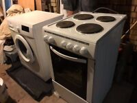 Washing machine and Electric Cooker Excellent condition