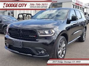 2017 Dodge Durango GT   AWD - Heated Leather, Uconnect, DVD