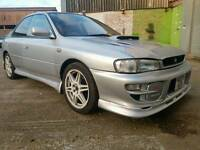 Impreza wrx turbo registered as a non turbo