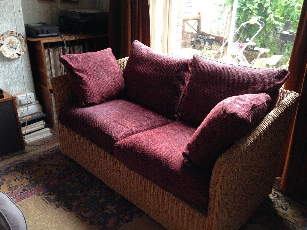 Sofa, attractive and well built wicker sofa