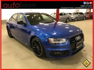 2015 Audi A4 QUATTRO S-LINE COMPETITION PACKAGE ! ! !