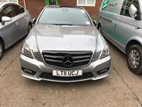 Mercedes Benz E250 Amg 2011 Pco car for sale