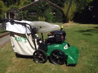 Billy Goat Self Propelled Lawn Vacuum - Very little use