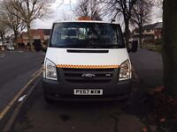 ford transit mk7 100 t350ef rwd 2.4 beaver tail recovery truck