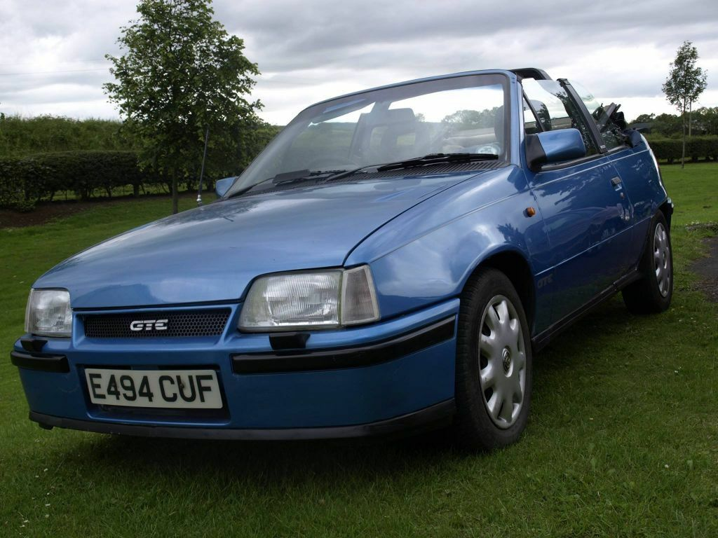 1987 mk2 vauxhall astra gte convertible for sale or swap in coleraine county londonderry. Black Bedroom Furniture Sets. Home Design Ideas