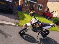 (125cc reg) Road legal 160cc stomp Pitbike