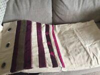 Purple/Cream NEXT Curtains