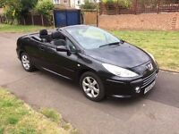 Peugeot 307 CC 2.0 16v S 2dr 6 MONTHS FREE WARRANTY, LEATHER SEATS