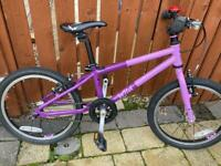 Wild 18 inch kids bike (purple)