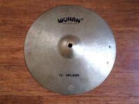"""Wokingham Drum Sales - Wuhan 12"""" Splash Cymbal - Handmade Cast Cymbal"""