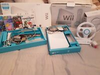 Nintendo Wii with extras £45
