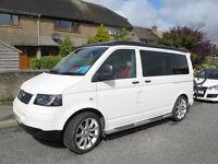 VW Transporter Campervan Teahupoo Conversion 2009, full MOT , Leather interior, 4 Berth, £25000 ono
