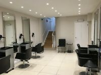 Self employed hairdressers to RENT a chair in Mayfair Salon