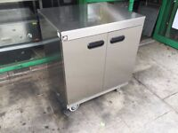 CATERING COMMERCIAL HOT FOOD WARMER HOT CUPBOARD PLATE WARMER CAFE KEBAB CHICKEN PIZZA RESTAURANT