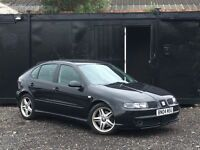 ★ 2004 SEAT LEON 1.8T CUPRA + ALLOYS + ELECTRIC WINDOWS ★