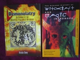 Magic - History -Witchcraft Books