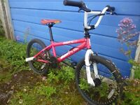 20 inch Diamondback DBR 1.1 BMX bike