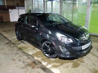 Vauxhall Corsa Limited Edition Metallic Black