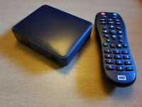 Western Digital WD TV Live streaming media player, boxed with accessories
