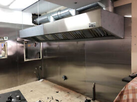 Kitchen Canopy ,Fan & Duct Cleaning NEW FAN INSTALLATIONS With Certification TR/19 or BSEN 15780