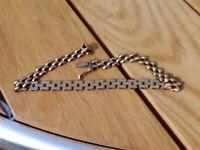 Ladies 9ct gold bracelet
