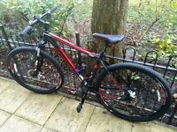 TREK 29 inch black and red mountain bike - LOOKING FOR BEST OFFER