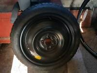 Spare wheel and tyre brand new