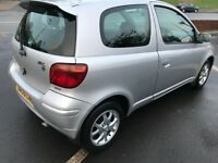 2005 TOYOTA YARIS COLOUR COLLECTION 1.3L- 3-DOOR HATCHBACK MANUAL PETROL FUL SERVICE HISTORY