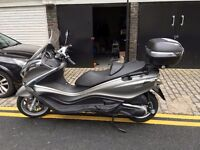Piaggio X10 350 scooter, hardly used just 1400 miles on the clock