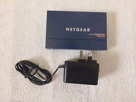 Netgear PS111W Print Server With Power Supply