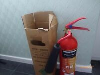 CO2 Fire Extinguisher 2 kg - NEW