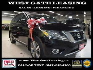 2013 Nissan Pathfinder PLATINUM | NAVIGATION | LEATHER |
