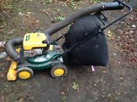Yard vacuum