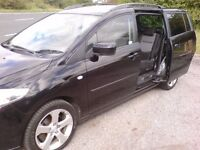 MAZDA 5 SPORTS, 7 SEATER, REAR SLIDING DOORS, 2 PREVIOUS OWNERS,IMMACULATE