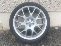 18INCH 5/100 VW SEAT TOYOTA ALLOY WHEELS WITH TYRES FIT MOST MODELS