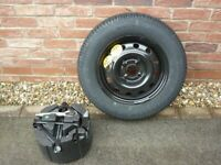 MG3 SPARE WHEEL WITH GOODYEAR GT3 TYRE 185/70 R14 88T