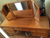Vintage dressing table beautiful solid wood