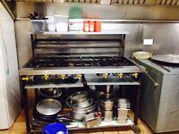 6 Burner Gas Cooker for takeaways or restaurants