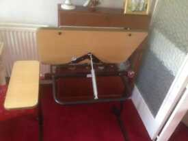 Disabled table for armchair bed ect