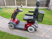 TGA mystern mobility scooter 8 m.p.h new 34ah batteries