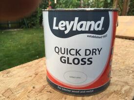 2.5l Acrylic interior gloss paint