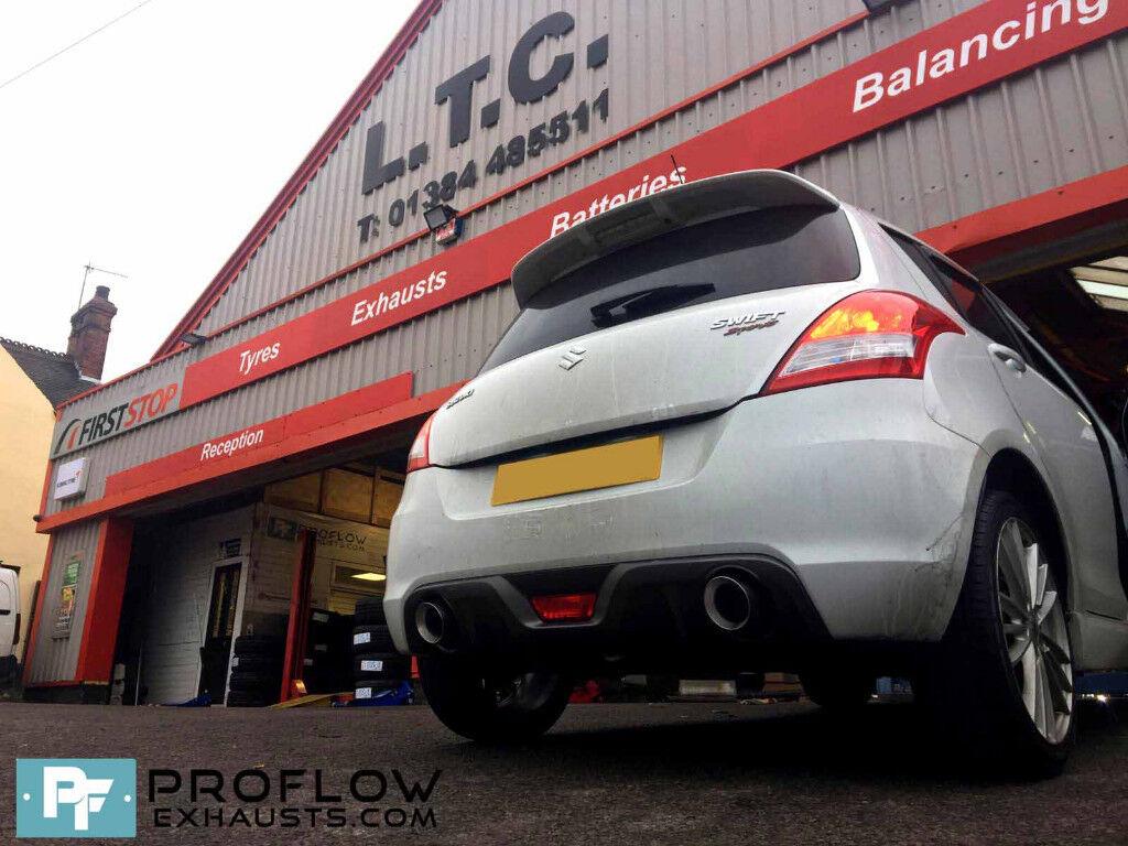 Proflow Exhausts Suzuki Swift Sport Back Box Delete with Dual Exit   in  Stourbridge, West Midlands   Gumtree